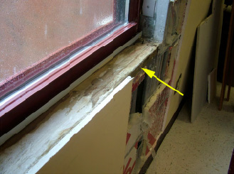 Water Intrusion Leakage